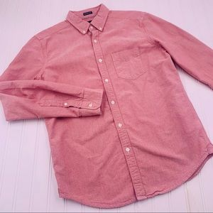 American Eagle Long Sleeve Button Down Oxford M